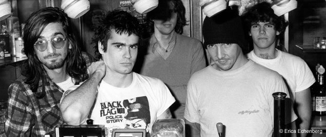 Black Flag always did everything by themselves. After leaving the band, Henry Rollins became a writer and... book editor!