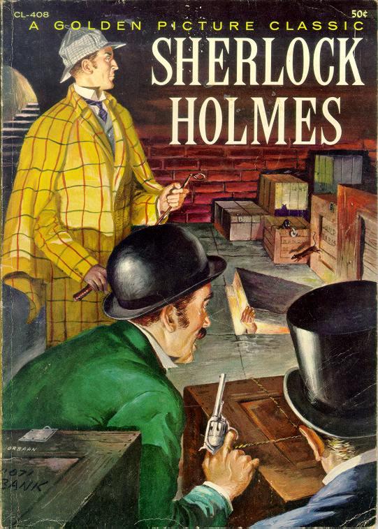 Sherrilock Holmes Is On The Case Again..
